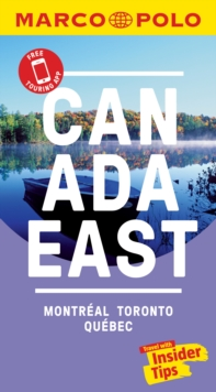Canada East Marco Polo Pocket Travel Guide 2019 - with pull out map : Montreal, Toronto and Quebec, Paperback / softback Book