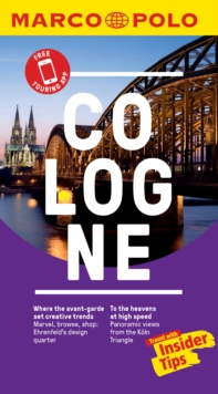 Cologne Marco Polo Pocket Travel Guide 2019 - with pull out map, Paperback / softback Book