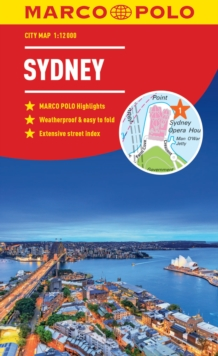 Sydney Marco Polo City Map 2018 - pocket size, easy fold, Sydney street map, Paperback Book