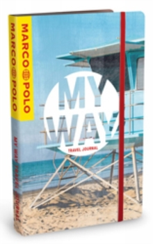 MY WAY Travel Journal (Beach Cover), Paperback Book