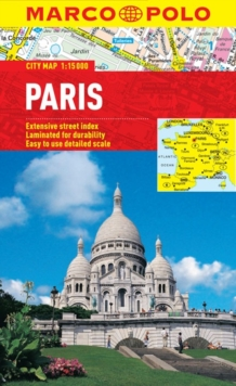 Paris Marco Polo City Map, Sheet map, folded Book