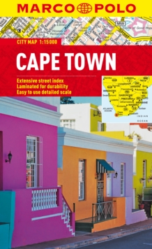Cape Town Marco Polo City Map, Sheet map, folded Book