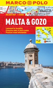 Malta & Gozo Marco Polo Holiday Map, Sheet map, folded Book