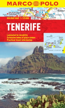 Tenerife Marco Polo Holiday Map, Sheet map, folded Book