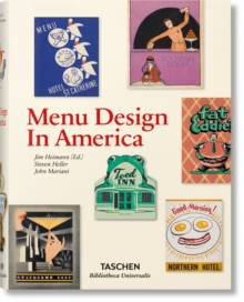 Menu Design in America, Hardback Book