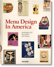 Menu Design in America, 1850-1985, Hardback Book