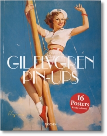 Pin-Ups. Gil Elvgren. Poster Set, Loose-leaf Book