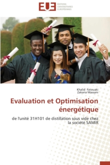 Evaluation Et Optimisation  nerg tique, Paperback / softback Book
