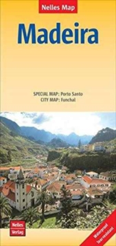 Madeire Porto Santo - Fu : Nel.223w, Sheet map, folded Book