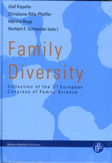 Family Diversity : Collection of the 3rd European Congress of Family Science, Hardback Book