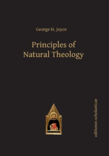 Principles of Natural Theology, Hardback Book