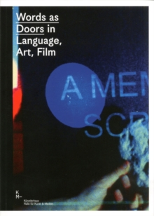 Words as Doors in Language, Art, Film, Paperback / softback Book