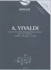 CONCERTO FOR VIOLIN STRINGS & BC OP 3 NO,  Book