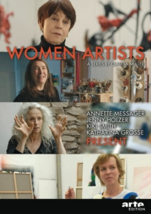 Women Artists : A Series by Claudia Muller: Annette Messager, Jenny Holzer, Kiki Smith, Katharina Grosse PRESENT (DVD), DVD-ROM Book