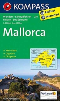 MALLORCA 230 GPS WP KOMPASS,  Book
