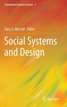 Social Systems and Design, Hardback Book