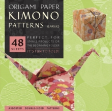 Origami Paper Kimono Patterns Large, Paperback Book