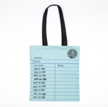LIBRARY CARD TOTE BAG MINT,  Book