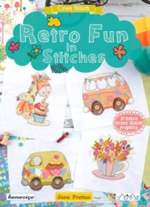 Retro Fun in Stitches, Paperback Book
