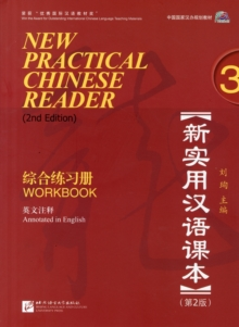 New Practical Chinese Reader 3 Workbook, Paperback Book