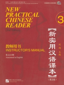 New Practical Chinese Reader vol.3 - Instructor's Manual, Paperback / softback Book