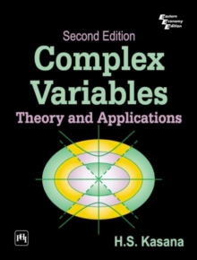 Complex Variables : Theory and Applications, Paperback / softback Book