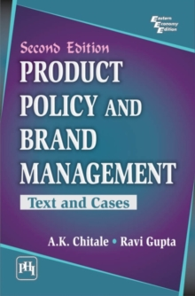 Product Policy and Brand Management : Text and Cases, Paperback / softback Book