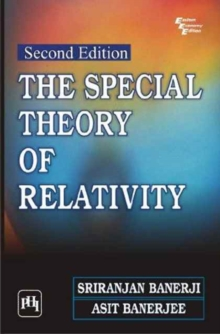 The special theory of relativity, Paperback / softback Book