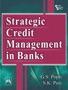 Strategic Credit Management in Banks, Paperback / softback Book