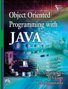 Object Oriented Programming with Java, Paperback / softback Book