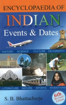 Encyclopaedia of Indian Events & Dates : 6th Revised Edition, Paperback Book