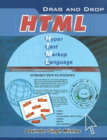 Drag & Drop HTML, Paperback Book