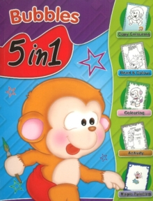 Bubbles 5 in 1, Paperback Book