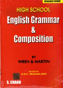 High School English Grammar and Composition, Paperback Book