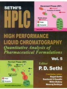 SETHIS HPLC HIGH PERF LIQ CHROM V5, Hardback Book