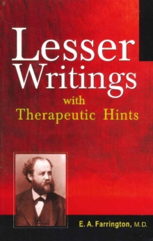 Lesser Writings : with Therapeutic Hints, Paperback / softback Book