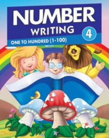 Number Writing 4, Paperback Book