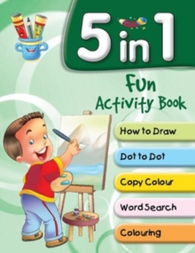 5 in 1 Fun Activity Book, Paperback Book