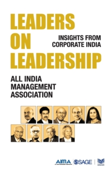 Leaders on Leadership : Insights from Corporate India, Paperback / softback Book