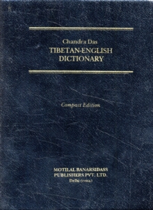 Tibetan-English Dictionary, Paperback Book