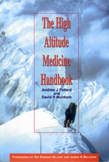 HIGH ALTITUDE MEDICINE HANDBOOK THE, Paperback Book