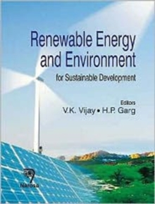 Renewable Energy and Environment : For Sustainable Development, Hardback Book