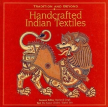 Handcrafted Indian Textiles, Hardback Book