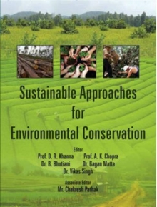 Sustainable Approaches for Environmental Conservation, Hardback Book