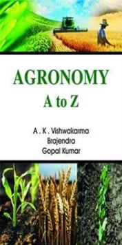 Agronomy a to Z, Hardback Book