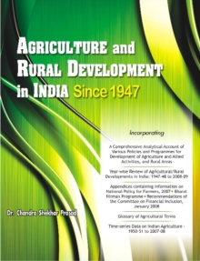 Agriculture & Rural Development in India Since 1947, Hardback Book