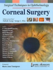 Surgical Techniques in Ophthalmology: Corneal Surgery, Hardback Book