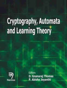 Cryptography, Automata and Learning Theory, Hardback Book