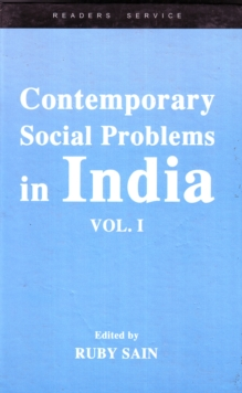 Contemporary Social Problems in India : Vol. I, Hardback Book