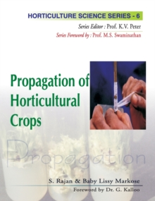 Propagation of Horticultural Crops, Hardback Book